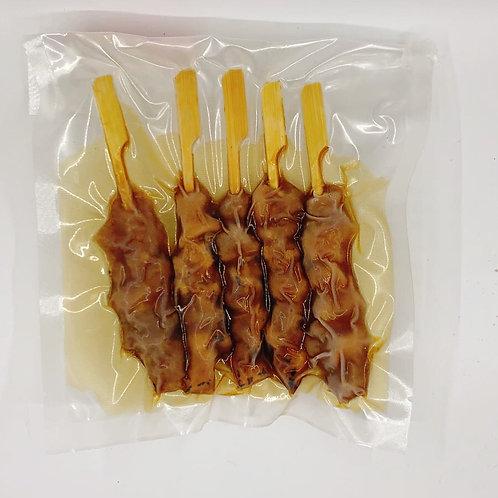 炭燒雞肉串 ($/包) 00858