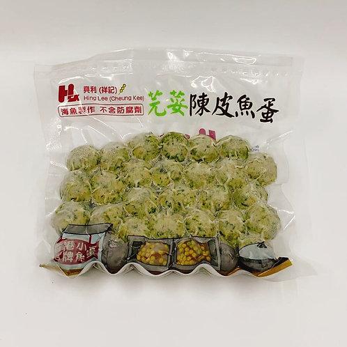 芫荽陳皮魚蛋 ($/包)93655