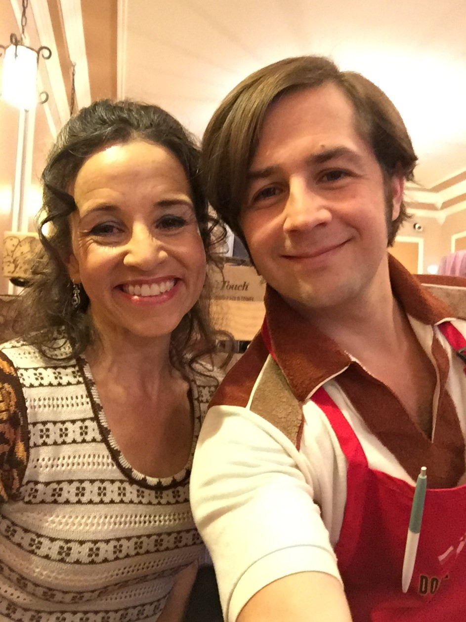 with Michael Angarano