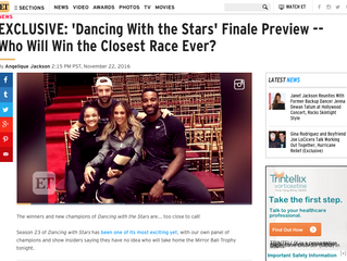 ETonline EXCLUSIVE: 'Dancing With the Stars' Finale Preview -- Who Will Win the Closest Race
