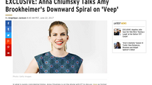 ETonline EXCLUSIVE: Anna Chlumsky Talks Amy Brookheimer's Downward Spiral on 'Veep'