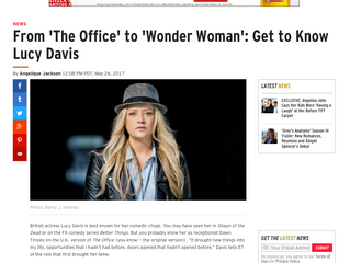 ETonline: From 'The Office' to 'Wonder Woman' - Get to Know Lucy Davis