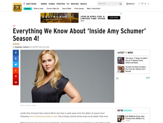 ETonline: Everything We Know About 'Inside Amy Schumer' Season 4!