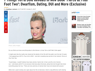 ETonline EXCLUSIVE: 7 Things Terra Jolé Reveals in New Book 'Fierce at Four Foot Two': Dwarf
