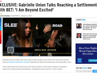 ETonline EXCLUSIVE: Gabrielle Union Talks Reaching a Settlement With BET: 'I Am Beyond Excited&#