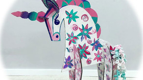 Kids' Night Out: Born To Be A Unicorn (Cardboard Sculptures)