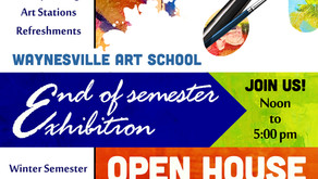 End of Semester Exhibition & Open House