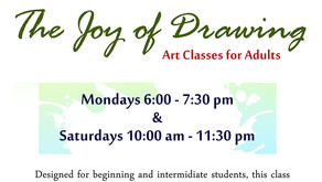 Art Classes for Adults Series: The Joy of Drawing
