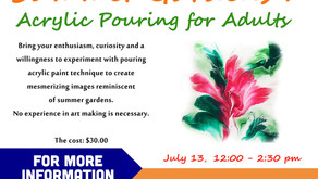 Summer Gardens: Acrylic Pouring for Adults