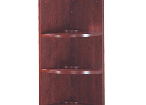 "36"" Corner Bookcase"