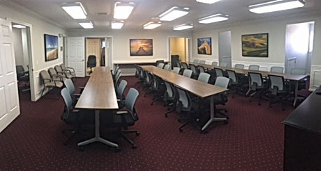 Training room furniture for one of Nashville's leading real estate companies.