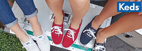 קדס, נעלי קדס, נעלי קדס לבנות,  קדס בד, ספורט לי ולך, סניקרס, נעלי הליכה טוקסיק keds,