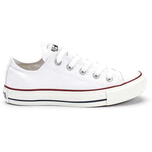 XRUN - ALL STAR converse white low | נעלי אולסטאר לבן נמוך
