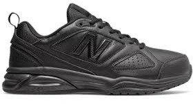 נעלי ניו באלאנס  new balance mx624ab5 | ניו באלאנס 624 שחור  נעליים אורטופדיות, נעליים רחבות , ניו באלאנס, נעליים למדרסים, נע