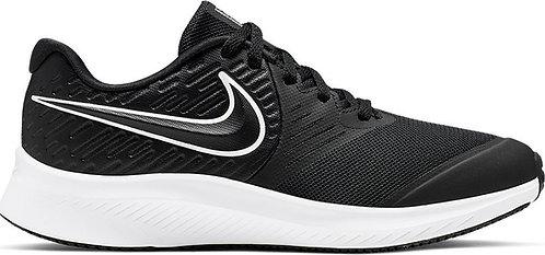 נייקלריצה, נייקלנשים, נייקלנוער,נעלי אימון,  nike star runner 2 black AQ3542-001 | נייק סטאר ראנר 2נייק במבצע, נעלי ריצה
