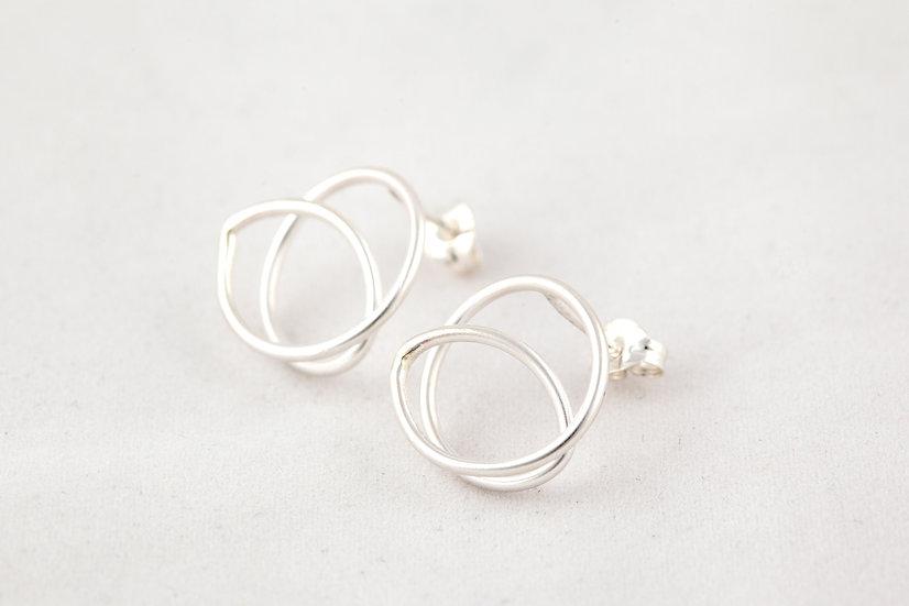 Sterling Silver Medium Earrings