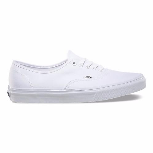 Vans authentic white | נעלי ואנס אוטנטיק לבן