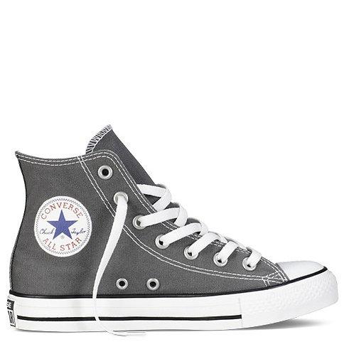 XRUN - ALL STAR converse hi charcoal | נעלי אולסטאר גבוהות אפורות