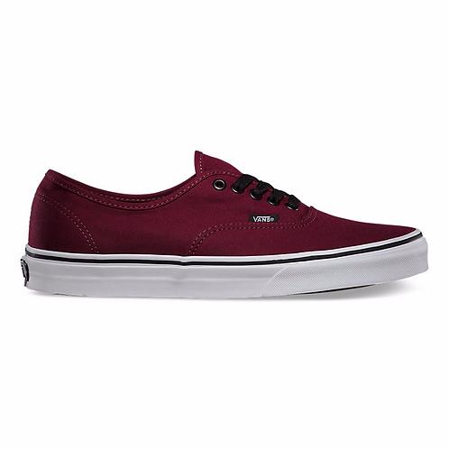 vans authentic maroon נעלי ואנס אוטנטיק בורדו