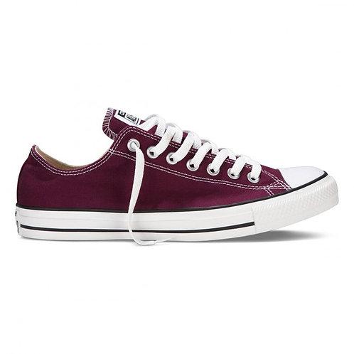 XRUN - ALL STAR converse maroon  low | נעלי אולסטאר בורדו נמוכות