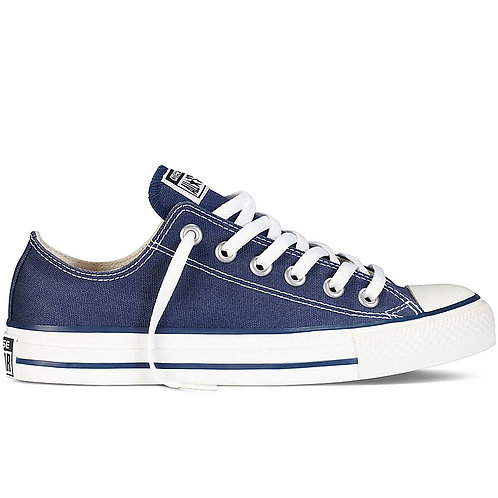 XRUN - ALL STAR converse navy low | נעלי אולסטאר כחולות נמוכות