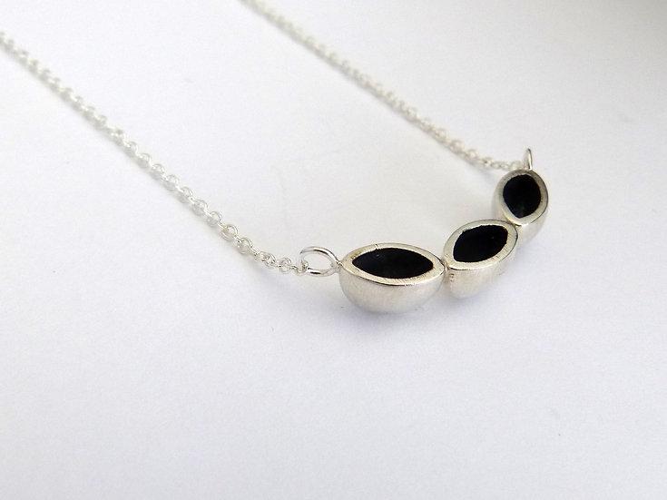 Sterling Silver Triple Pendant