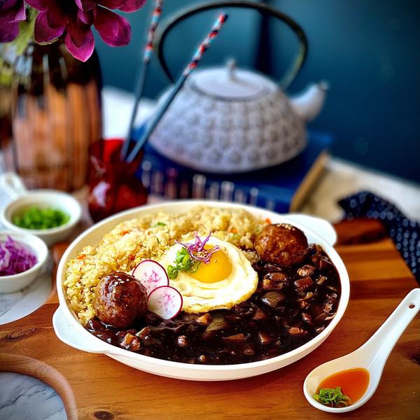 Bo Jjajang Fried Rice
