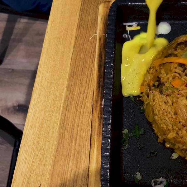 Volcano Kimchi Fried Rice