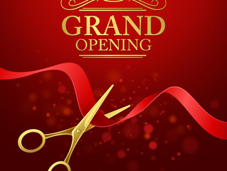 Grand Opening Weekend Sep 29 - Oct 2nd!