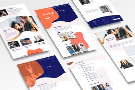 Businesstag   Branding & Front-end web