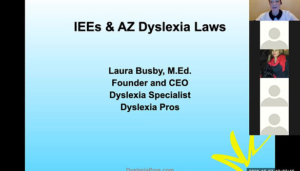 Independent Educational Evaluations (IEEs) and AZ Dyslexia Laws