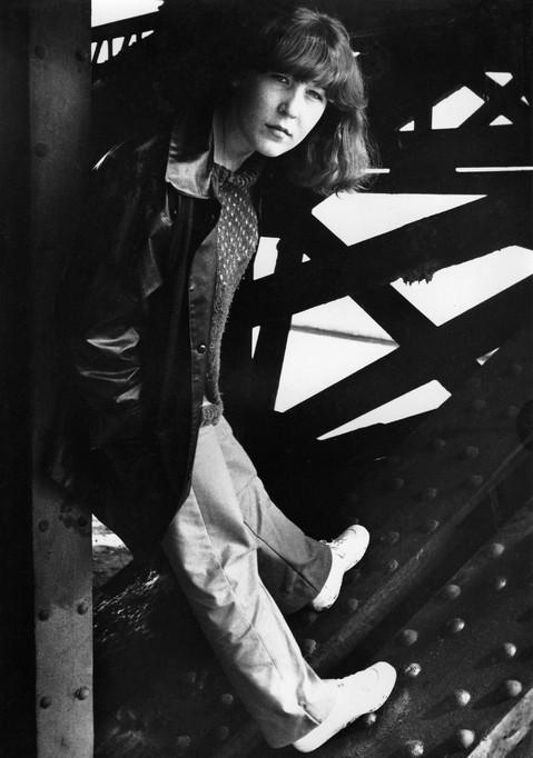 Anne 1 - noir et blanc - 1978
