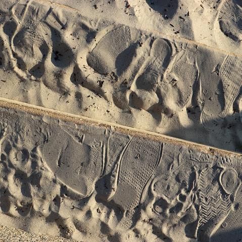 Marches à la plage, Carnac