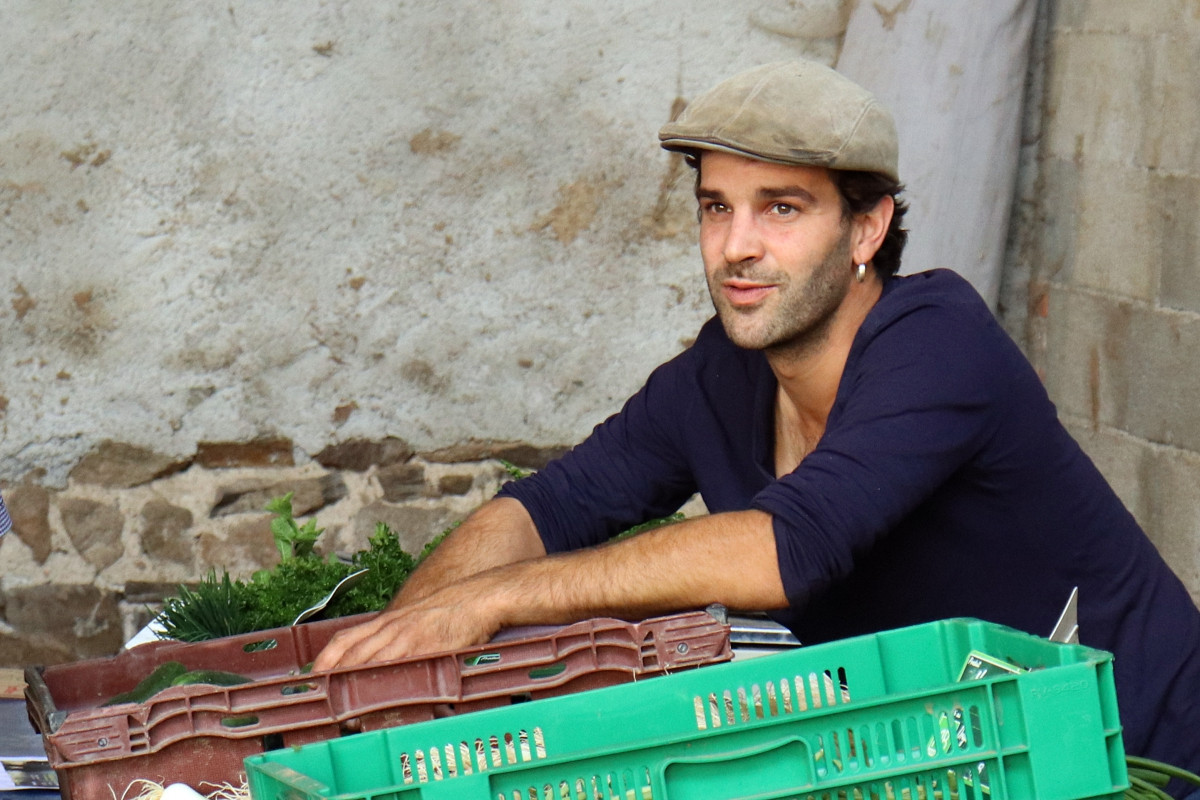 Antoine, producteur de légumes