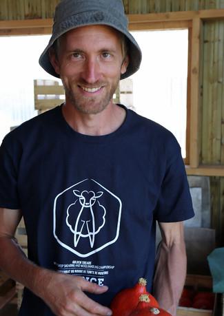 Benoît, éleveur d'agneaux