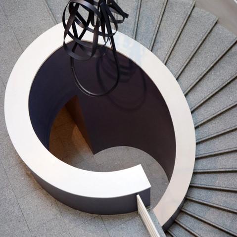 L'escalier du Musée Berardo, Lisbonne