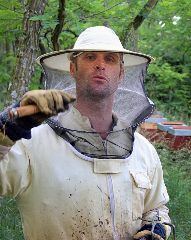 Éric, apiculteur