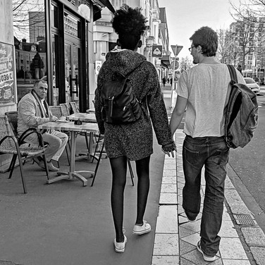 Hand in hand, avenue Grammont, Tours, 2020