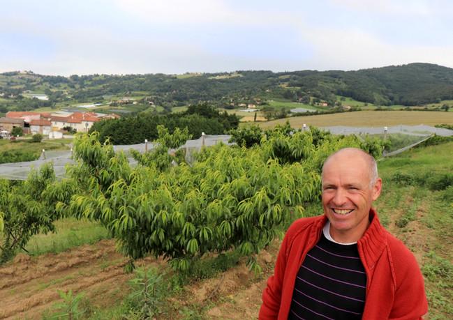 Dominique, producteur de fruits