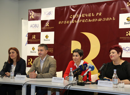 Armenia's Best PR Professionals to be Appreciated for the Third Time