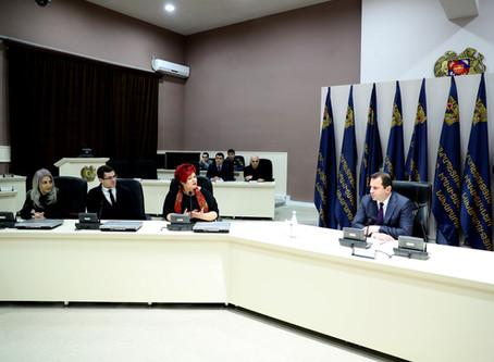 The graduates of PR School met Minister of Emergency Situations of RA Davit Tonoyan