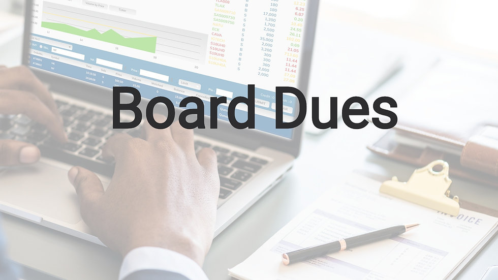 Board Dues