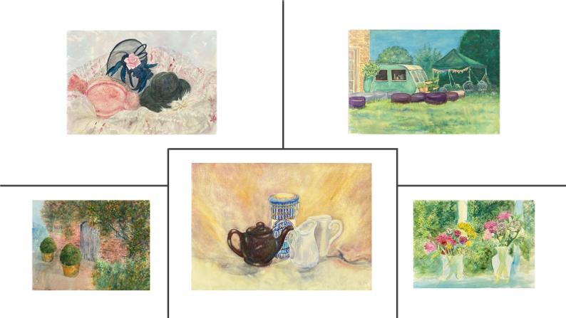 Set of 5 Greeting Cards (Set 3)