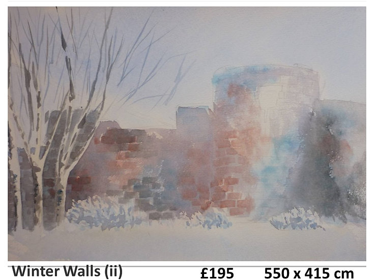 Winter Walls (ii)