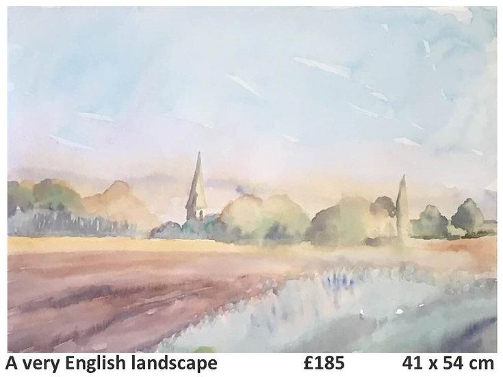A very English landscape