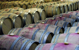 Barrel Room at Picardy Winery