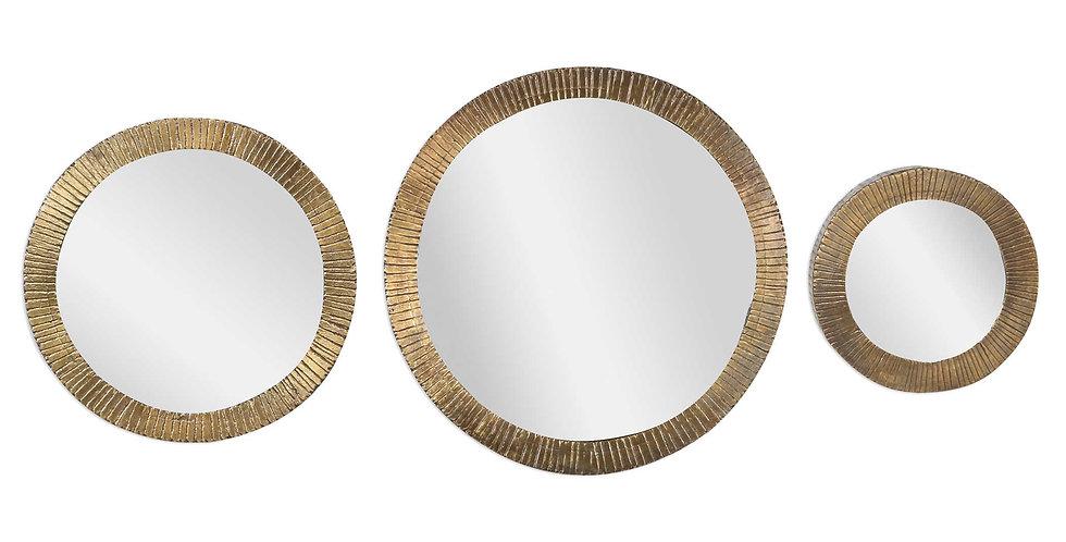 Lipari Round Mirrors, S/3