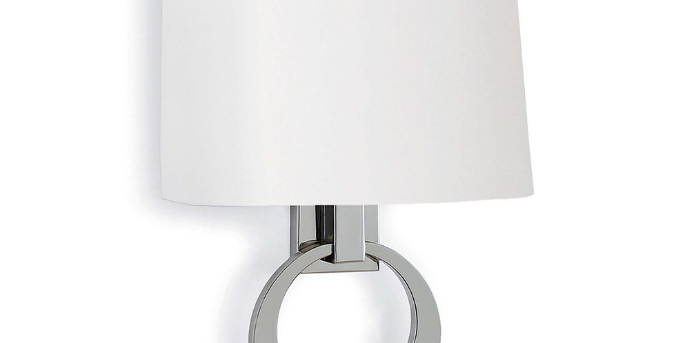 Promise ring sconce Polished Nickel