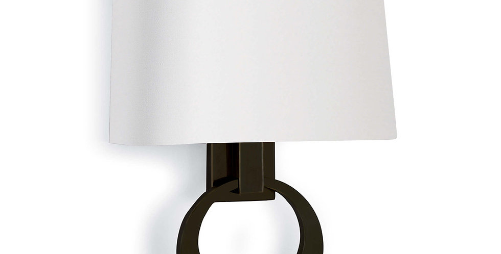 Promise Ring Sconce Oil Rubbed Bronze