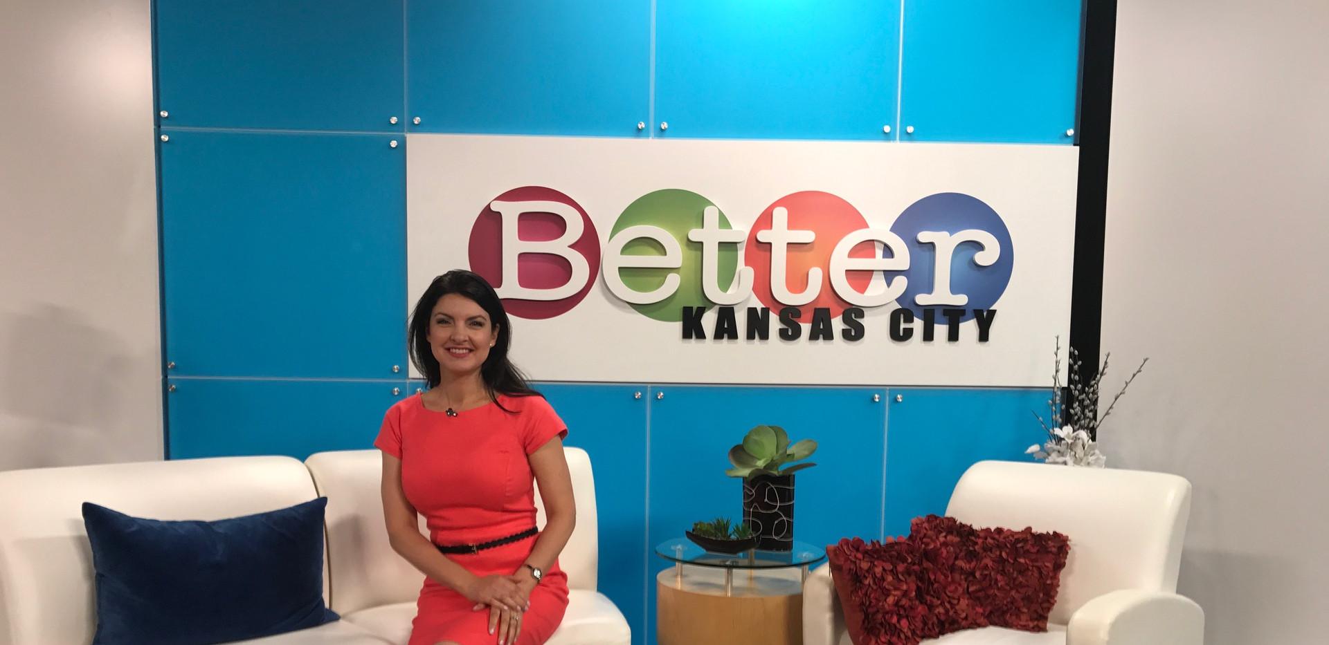Angela Smeed Design on KCTV5 Better Kansas City